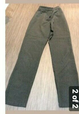 2 Pair Girls Debenhams Girls' Grey Skinny Fit school trousers used age 12