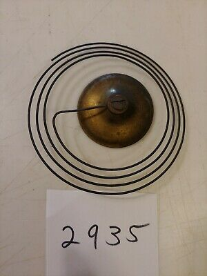 Antique Forestville Ogee Clock Brass Covered Strike Gong From 30 Hour Movement