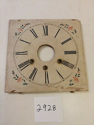 Antique Jerome Ogee Clock Wooden Dial From 30 Hour Movement With Alarm