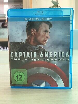 Captain America - The First Avenger 3D (2013) Blu-Ray