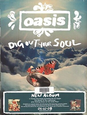 0658 Vintage Music Poster Art - Oasis - Dig Out Your Soul