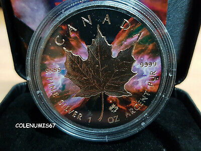5 Dollars Maple Leaf Canada Kanada 2016 - Butterfly Space Collection - 1 Oz.
