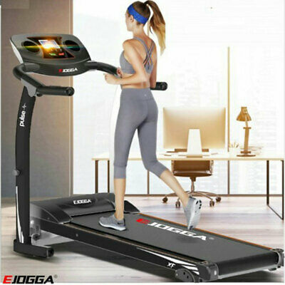 Electric Folding Treadmill Running Machine Pulse Xf Cardio Gym Runner Machine