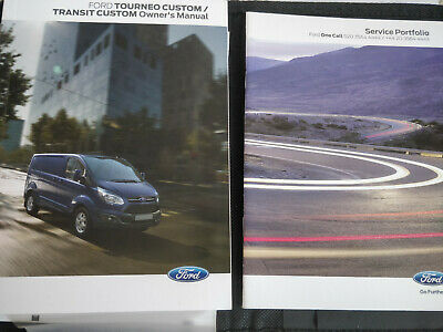 Ford Transit Service Book Literature Pack
