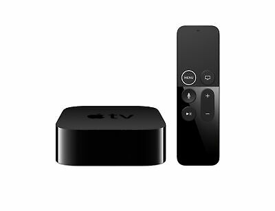 BRAND NEW Apple TV 4K HDR 64GB Dolby Vision Atmos with Siri Black MP7P2LL/A