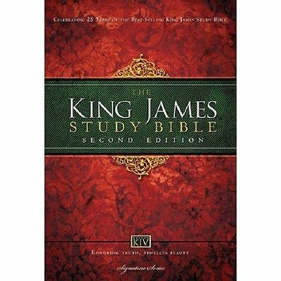 King James Study Bible: Second Edition (Hardcover)