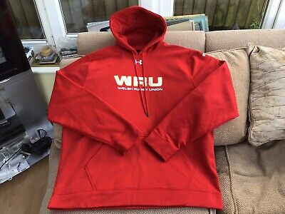 ddd5ceec5 Under Armour Wales Rugby Union Fleece Hoodie Size 3XL Brand New Without Tags