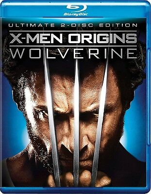X-Men Origins: Wolverine (Blu-ray Disc, 2009) *Bilingual*