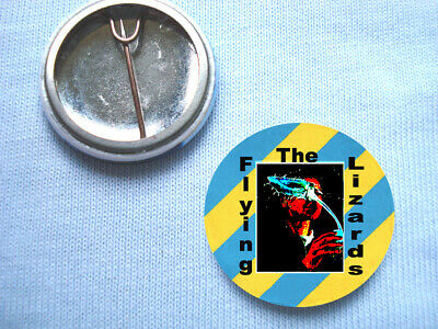 The Flying Lizards - 25mm Badge Depeche Mode Silicon Teens  Fad Gadget