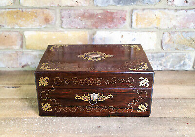 Rosewood Table Box c.1840