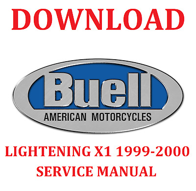 Buell Lightening X1 1999-2000 Service Manual Download
