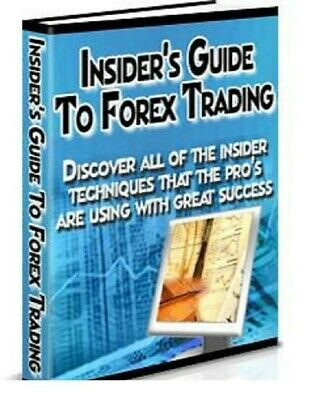 Insider's Guide To Forex pdf ebook Free Shipping With master Resell Rights