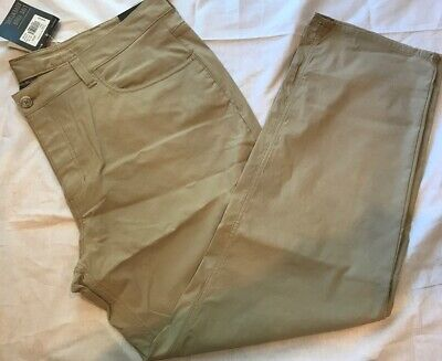 "Eddie Bauer Men's Takeoff Travel Pants 40"" X 30"" Two-Way Stretch StormRepel"