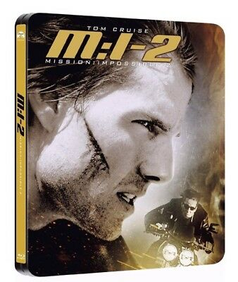 Mission Impossible 2 - Paramount Centenary STEELBOOK - Import anglais - NEUF