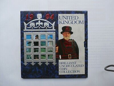 Royal Mint United Kingdom 1994 Brilliant Uncirculated Coin Collection