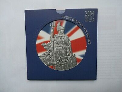 2004 United Kingdom Brilliant Uncirculated Coin Collection