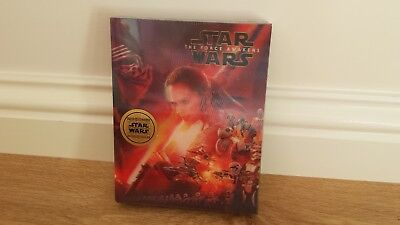Blufans Star Wars The Force Awakens exclusive 3D bluray steelbook double lenti