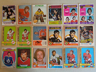 (54) 1971-72 - 1981-82 OPC O-Pee-Chee WHA Vintage Hockey Cards Lot Stars HOF RC