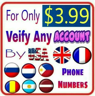 USA UK FRA NED Phone Numbers Receive One Verification Code to Verify Any Account