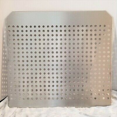 "VWR Stainless Steel Perforated Incubator Shelf 17"" x 18 1/2"""