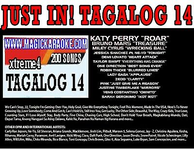 Magic Sing Onstage Xtreme Vol4. Tagalog 14 For Et28Kh Songchip Tagalog/English