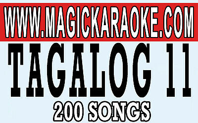Magic Sing Onstage Xtreme Vol1. Tagalog 11 For Et28Kh Songchip Tagalog/English