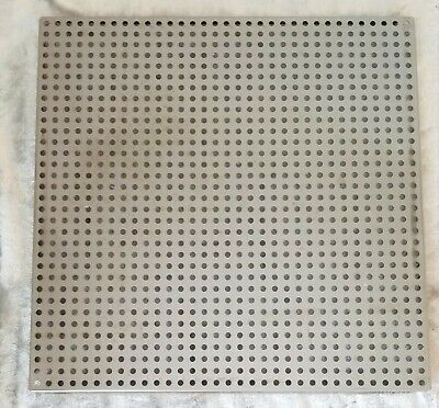 "VWR Stainless Steel Perforated Incubator Shelf 16 3/4"" x 16 3/4"""