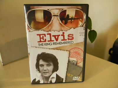 Elvis: The King Remembered (DVD, 2014)