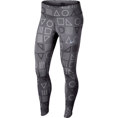 8f3d9672afe9a Nike Power Epic Lux Flash Women's Reflective Running AH6849 Tights Size M