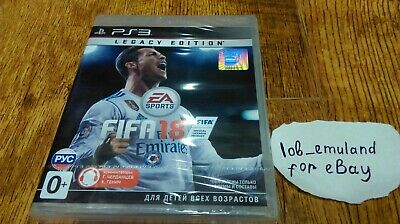 FIFA 18: Legacy Edition for Sony PS3 *FACTORY SEALED* PAL