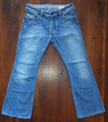 d93792db VINTAGE DIESEL ZAF Jeans Size 34 x 32 Art 796 Made in Italy - $59.97 ...