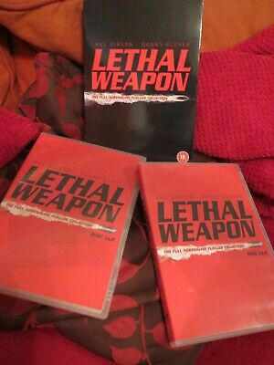 Lethal Weapon dvd boxset