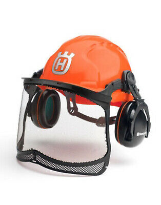 Husqvarna Chainsaw Protective Safety Helmet Functional Version Free Postage