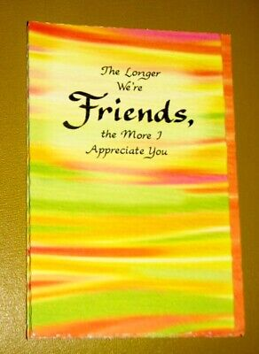 """Blue Mountain Arts Greeting Card /""""GIRLFRIENDS...JUST LIKE FAMILY/"""" B2GO SALE"""