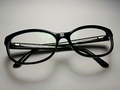 1e0eac99d39d Authentic Fendi F 940 001 Black/Print 53mm Eyeglasses Frames Italy RX **Used