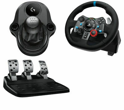 LOGITECH Driving Force G29 Steering Wheel & Gear Stick Bundle *Retail Boxed*