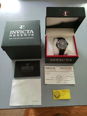 Invicta Reserve Sea Vulture Mens Quartz Chronograph Watch 1731