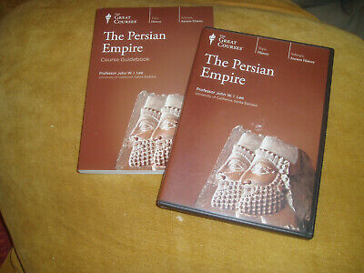 The Great Courses THE PERSIAN EMPIRE John W.I. Lee  4 DVD set & BOOKLET