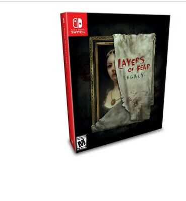 Layers of fear legacy edition Nintendo Switch Nuevo SEALED Limited Run