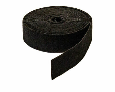 "1"" Inch Roll Hook and Loop Reusable Cable Ties Straps 5M 15ft 10 Pack"