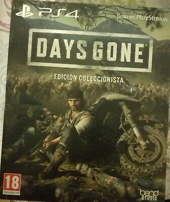 Days gone coleccionista collector Edition PlayStation ps4 nueva sealed