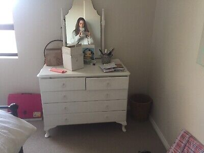French Provincial Dresser   mirror. Vintage, antique, shabby chic