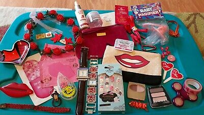 Junk Drawer Lot~ Nice Group Of Womens 👄Collectibles~35+ Random New & Used Items
