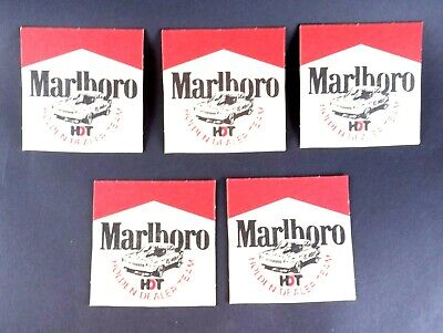 Advertising Marlboro Cigarettes Collectable Holden Cardboard Drink Coasters HDT