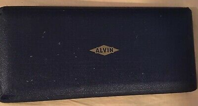Vntg ALVIN PRECISION DRAWING SET DRAFTING SET engineering tools Made In Germany