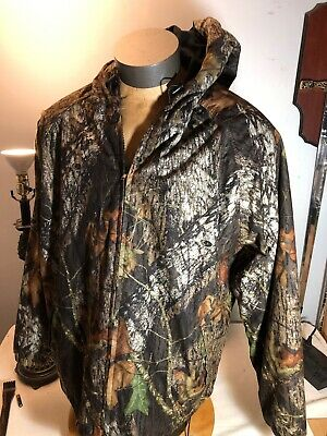 f1f94ad3edd8b Vintage Field Staff Mossy Oak Break Up Bomber Jacket Men's Hunting Camo XL