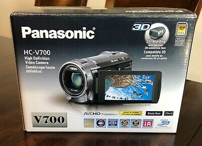 Panasonic HC-V700 Camcorder Very Good Condition