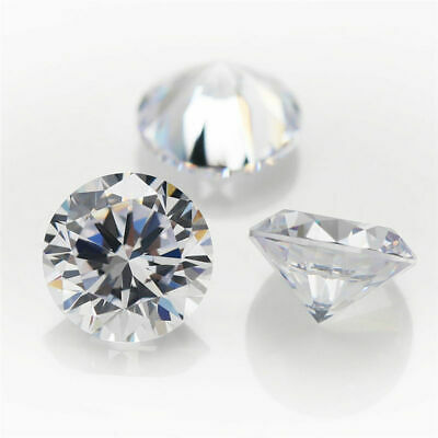 Cubic Zirconia Wholesale Loose Stones Very Best Quality: 1-8 mm Round  5 Colours