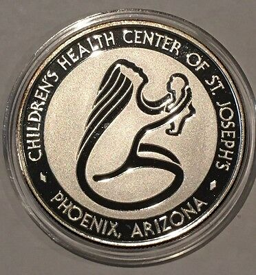 Children's Health Center Phoenix Arizona 1 Troy Oz .999 Fine Silver Proof Coin