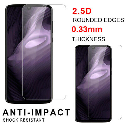 For Motorola Moto Z4 Premium Screen Protector 9H Tempered Glass Real Clear Film